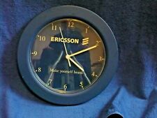 Ericsson Mobile Phones Make yourself Heard Dealer only Wall Clock Very Rare
