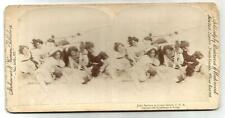 Photo-stéréo 1897,Jolly Bathers at Coney Islands ,USA.