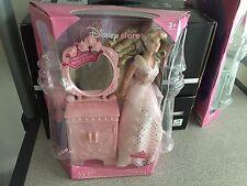 Talking Disney Princess Doll Featuring Sleeping Beauty Pink Vanity NIB - New