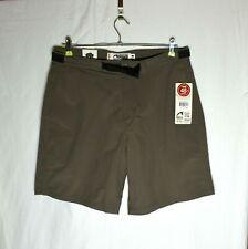 NWT Mountain Khakis Men's Shorts Size 36x8 Latitude Belted Terra Khaki Work Hike