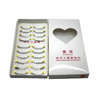10 Pairs Soft Handmade Lower Eye Lashes Natural Under LZ Eyelashes Bottom F K2R0