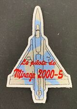 Taiwan Air Force Mirage 2000 Aircraft Patch