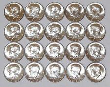 1964 Original Roll Us Silver Kennedy Half Dollars 90% Silver Bu Uncirculated