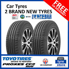 2X New 215 70 15 TOYO PROXES CF2 SUV 98H 215/70R15 2157015 *C/B* (2 TYRES)