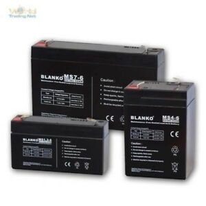 Lead Battery 6V Lead Battery/Battery Maintenance-Free Battery 6 Volt AGM Gel