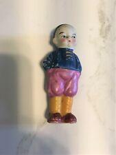 Vintage Ceramic Bisque Boy Figurine Guc