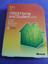 MICROSOFT OFFICE 2010 HOME & STUDENT  FAMILY PACK GENUINE WORD ETC  PRODUCT KEY