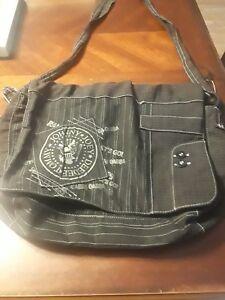 Ramones 1234 Canvas Messenger Bag Purse Tote