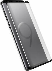 OtterBox Alpha Glass Screen Protector for Samsung Galaxy S9 Clear Easy Open Box