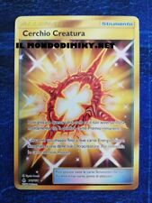 Pokemon  CERCHIO CREATURA 141- 131  RARA SEGRETA   FULL ART ITA_POKEMON