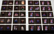 MARY KATE & ASHLEY OLSEN TWINS  LOT OF COLOR 35MM SLIDE TRANSPARENCY PHOTO #