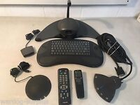 PictureTel Video Conferencing System Lot Camera, Microphone, keyboards remotes