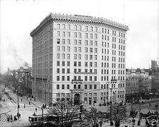 1907 Photo of the Hotel Ponchartrain, Detroit, Michigan-Legendary Vintage Luxury