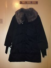 Karen Millen Fur Necked Winter Coat