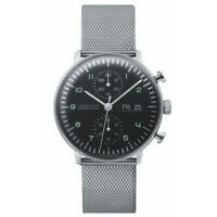 NEW Junghans Max Bill Chronoscope Men's Automatic Watch - 027/4500.49.M