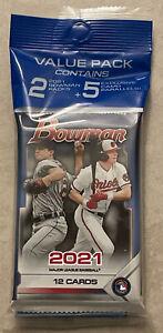 MLB Topps 2021 Bowman Baseball Trading Card VALUE Pack 24ct