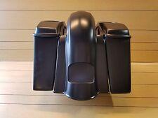 4¨Stretched Saddlebags,Lids/ Rear Fender for Harley Davidson Touring 2009-2013