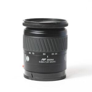 Minolta AF 28-80mm f/3.5-5.6 AF Lens - Black