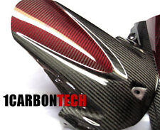 2011 - 2016 SUZUKI GSXR 600 750 CARBON FIBER AND RED HYBRID REAR FENDER HUGGER