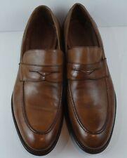 Johnston & Murphy Men's Cognac 1850 Bryson Penny Loafers MSRP $285 Size 12 M