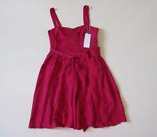 NWT J.Crew Short Rebecca in Crushed Berry Silk Tricotine Sleeveless Dress 10