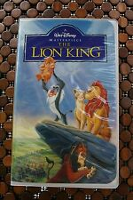 Walt Disney VHS Lion King Masterpiece Collection NM Condition