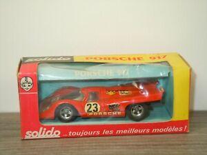 Porsche 917 - Solido 186 France 1:43 in Box *53416