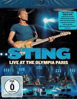 BLU-RAY NEU/OVP  - Sting - Live At The Olympia Paris