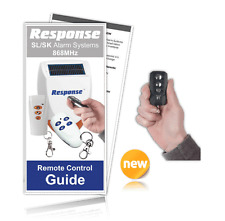 Response Alarms SL 868MHz Compatible Executive Remote RM8000-R 868MHz /INC GUIDE
