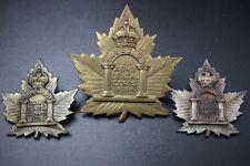 WW1 Canada CEF Army Dental Corps Cap/Collar Badge (DS ERROR)