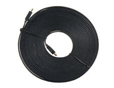 Flat HDMI Cable 1.4 Version 3m 5m 10m Thin Slim Male To Male HDTV 3D PS3 1080p