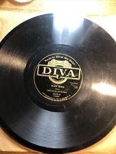 DIXIE STOMPERS 78 Black Maria / Baltimore JAZZ 78rpm on DIVA