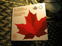 150 Years Birth Of Canada Celebrations 2017 Mint Set Includes Glow In Dark Coin.