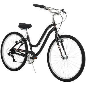 Huffy 27.5 In. Ladies' Parkside Bike, Black Matte Free Fast Shipping New