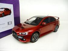 1:18 Kyosho Mitsubishi Lancer Evolution X Final Edition Red KSR18019R NEU NEW