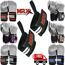 Weight Lifting Wrist Wraps Power Supports Gym Workout Bandage Straps Grip 18""