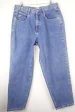 Venezia Womens Jeans size 16 Petite 16P Mom High Waist Rise Blue Denim NEW