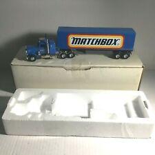 NEW Diecast Matchbox HUGE LOGO Collectibles Peterbilt Semi-trailer Rig Truck