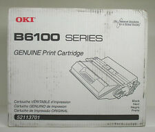 Genuine OkiData B6100 ( 52113701 ) 15K Black Oki Toner - (New Sealed)