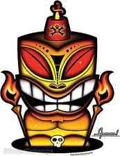Fez Tiki Sticker Decal Chico Von Spoon CVS11