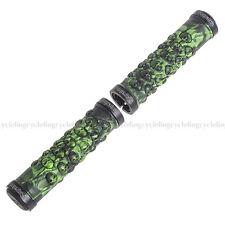PROPALM MTB Grips Green Handlebar Grips TPR Rubber Lock-on Grips Fixed Gear