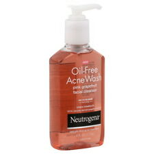 Neutrogena Acne Wash, Oil-Free, Pink Grapefruit Facial Cleanser 6 Oz