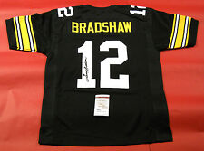 TERRY BRADSHAW AUTOGRAPHED PITTSBURGH STEELERS  B JERSEY JSA