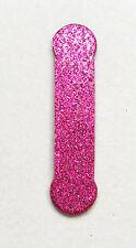 """Custom 1.15"""", 2"""" Lollipop Glitter Chipboard die cut Letters 30+ colors stickers"""