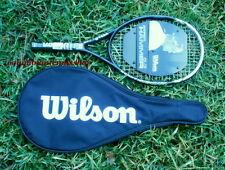 New Wilson Hyper Hammer 5.3 cover Racket Strung Hh 5.3 1/4 (2) L2 org $199