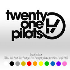 "6"" Twenty One 21 Pilots Music Band Metal Window Car Laptop Vinyl Decal sticker"