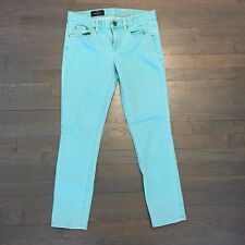 J.Crew Womens Size 28 Coral Green Toothpick Ankle Skinny Jeans Pants