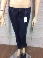 Jeans HENRY COTTTONS  Donna Taglia 28 Elastico Woman Pantalone Blu Gamba Dritta
