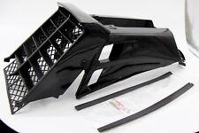 NEW Vito's Yamaha Banshee plastic gas tank side covers + grill 1987-2006 BLACK
