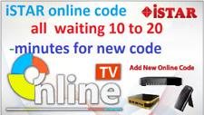 istar korea Online Code 12 Months For All Models